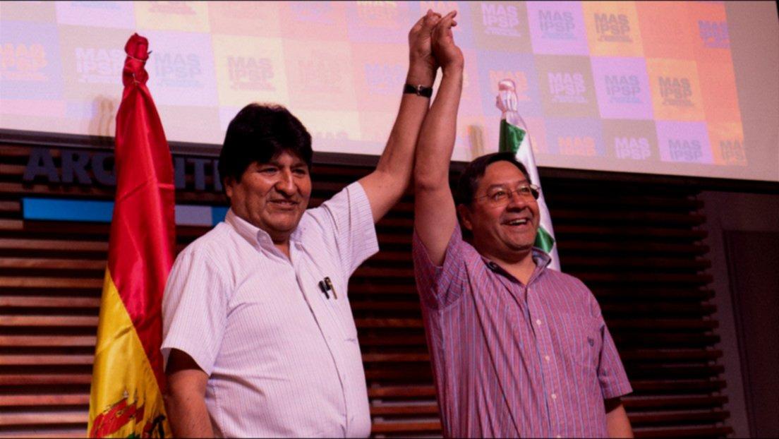 El candidato de Evo regresa a Bolivia