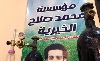 Delantero del Liverpool Salah dona oxígeno para apoyar lucha de su pueblo egipcio contra el COVID