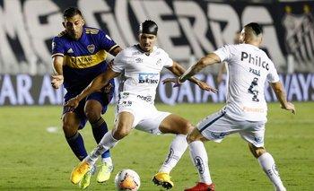 Santos golea a Boca y clasifica a final de Libertadores ante Palmeiras