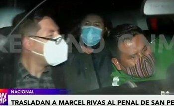 Trasladan a Marcel Rivas de la clínica a la cárcel de San Pedro
