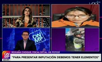 Para la Fiscalía, los delitos que cometió sujeto que agredió a policía en Potosí no amerita detención preventiva