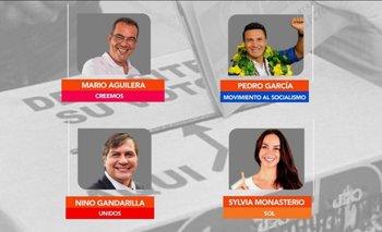 Candidatos a vicegobernador en Santa Cruz compartirán sus propuestas en QNMP