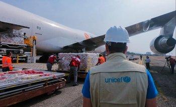 Unicef logra acuerdo con grandes aerolíneas para entregar vacunas