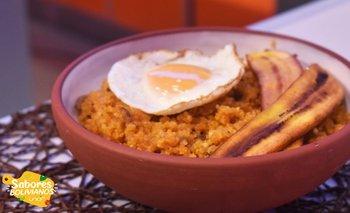 Majadito de quinoa