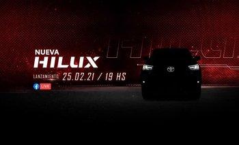 Toyota lanza la nueva Hilux 2021 con un diseño completamente renovado
