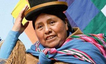 Nombran a Felipa Huanca como cónsul  en el servicio exterior