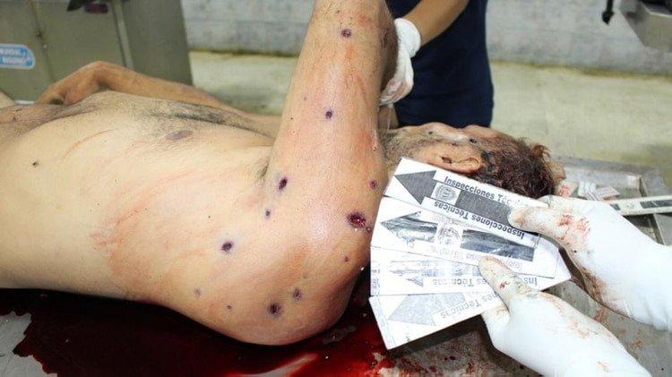 Ortega Díaz muestra contundentes evidencias de la masacre a Óscar Pérez