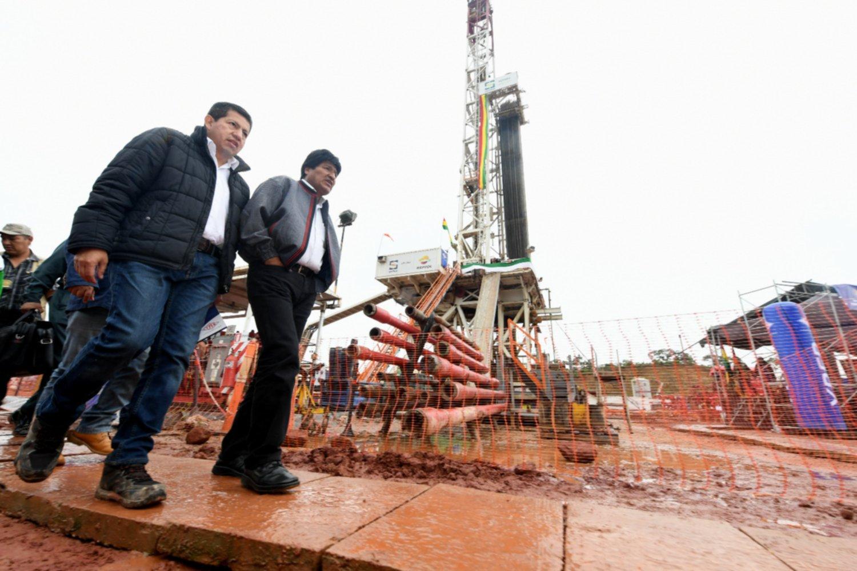 Encuentran en Bolivia importante yacimiento de gas [Internacional]