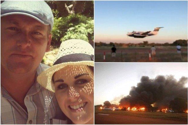 #Video Piloto estrella avión pequeño contra edificio para matar a su esposa