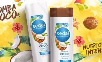 Un cabello suave, brillante y fragante sólo con Sedal Bomba Coco