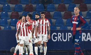 Athletic de Bilbao vence a Levante y accede a su segunda final consecutiva de la Copa del Rey