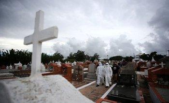 Brasil registra 1.800 nuevas muertes por COVID, la segunda mayor cifra diaria