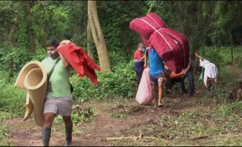 Desalojan pacíficamente a indígenas que avasallaron el Jardín Botánico