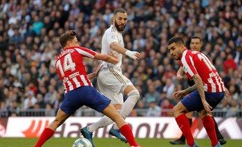 Benzema se recupera a tiempo para derbi contra el líder Atlético