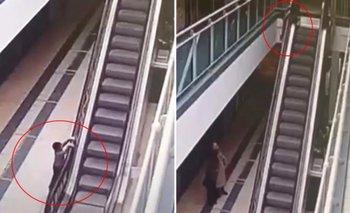 Niño cae desde una altura de 6 metros luego que sus padres lo descuidaron un momento