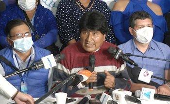 """Evo Morales: """"Ganamos las Gobernaciones"""""""