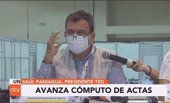 El 21 de marzo se repetirá votación en cuatro municipios de Santa Cruz ante quema de ánforas