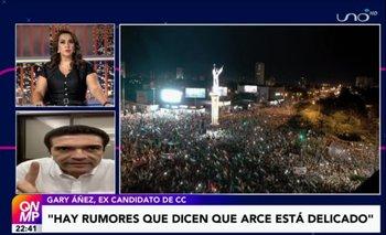 Gary Áñez pide al Gobierno dar a conocer un informe acerca de la salud del presidente Arce