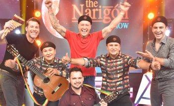 'The Narigon Show' tuvo una noche de Guitarreada con Los K'achas