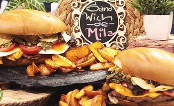 Sandwich de milanga
