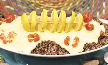 Trucha con Salsa de queso