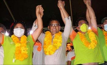 Óscar Montes es el nuevo gobernador de Tarija tras cierre de cómputo al 100%