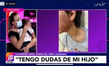 Apareció la mamá del menor agredido por su padrastro: