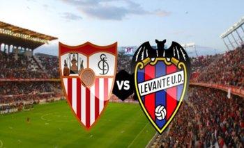 Sevilla gana a Levante y queda a tres puntos de la cima de liga española