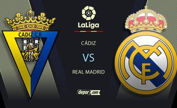 Real Madrid vs. Cádiz EN VIVO