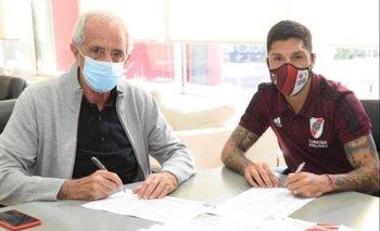 Enzo Pérez renueva contrato con River