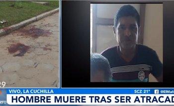 Atracan y asesinan a un hombre con un machete en La Cuchilla