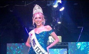Miss Feria 2019 es Nathalia Barcelos