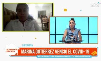 Marina Gutiérrez: La enfermera que venció al COVID-19