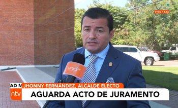 Jhonny Fernández está listo para posesionarse como el nuevo alcalde cruceño