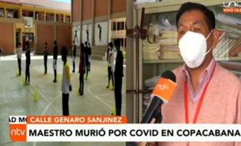 Maestro fallece por coronavirus en Copacabana