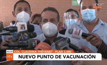 El Plan Tres Mil tiene un nuevo punto de vacunación