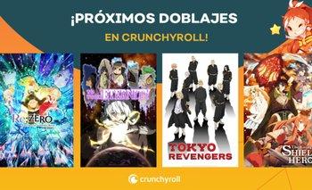 Estos son los animes que llegan con doblaje al español a Crunchyroll