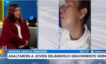 Casi matan a un joven por robarle 20 bolivianos y un celular