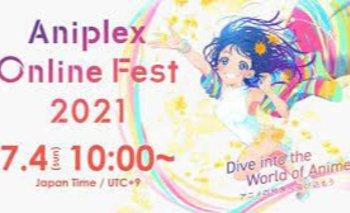 Aniplex Online Fest 2021 comienza el 3 de julio
