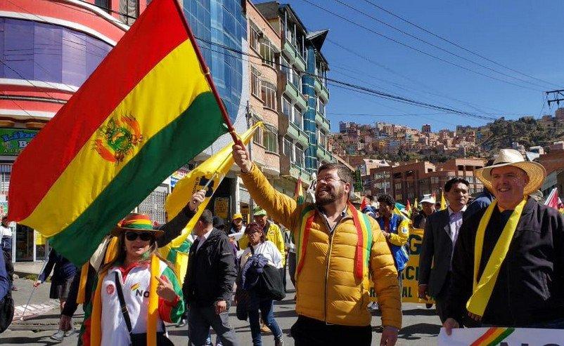 Repudian postulación de Evo Morales a nueva reelección como presidente de Bolivia