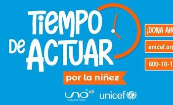 Unicef y Red Uno apoyarán a los niños afectados por el Covid-19