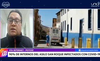 En el asilo San Roque el 90% de adultos mayores se encuentran infectados por Covid-19