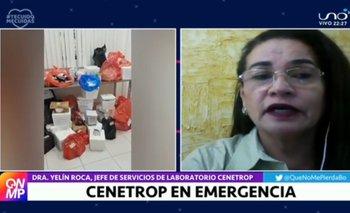 Cenetrop en Santa Cruz colapsa en el procesamiento de muestras de Covid-19