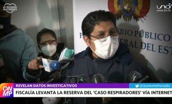 Fiscalía levanta la reserva del proceso del 'caso respiradores' se establece sobreprecio en la compra
