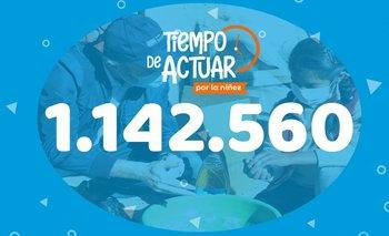 Unicef y Red Uno de Bolivia superaron el objetivo en la campaña para la niñez