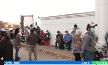 Se reanuda la vacunación en Santa Cruz