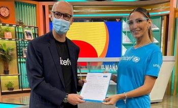 Desirée Durán es nombrada embajadora de Unicef en Bolivia
