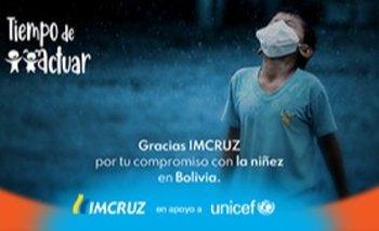 """""""Tiempo de Actuar"""": IMCRUZ y UNICEF sortean un auto 0 km para las personas de gran corazón."""