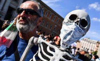 Italia anuncia que los barbijos dejarán de ser obligatorios desde el 28 de junio