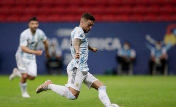 Argentina le gana 1-0 a Paraguay y clasifica a cuartos de final en la Copa América
